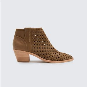 Dolce Vita Woven Leather Booties